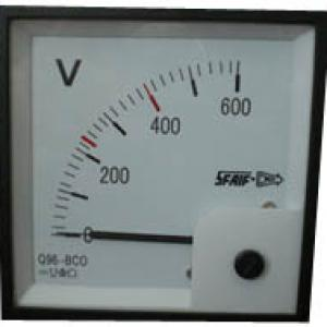 AC current voltmeter with isolated transmission output Q96-RZCO