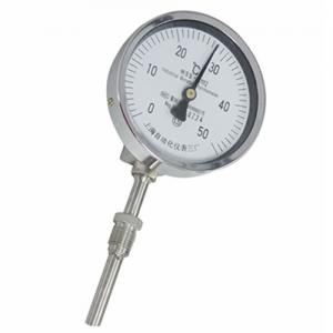 WSS-501 Φ150mm Dial Diameter Axial Installation Bimetal thermometer