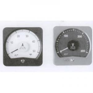 Wide angle DC ammeter 13C3-A